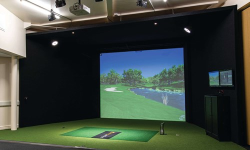 The PGA installs state-of-the-art Foresight Sports simulator
