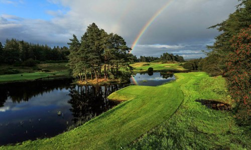 Dramatic imagery showcases new-look Queen's Course