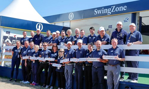 Seven debutants set for Royal St.Georges Open Swingzone