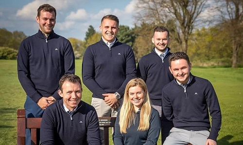 Rodgers joins golfing greats at Royal Mid-Surrey Golf Club