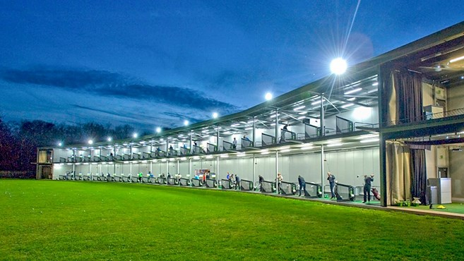 Hi-tech golf range goes online to comply with coronavirus guidelines