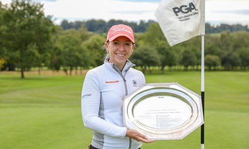 Action replay as MacRae wins the WPGA Championship