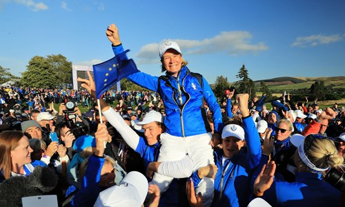 European Solheim Cup Captain Catriona Matthew announced as golf ambassador for Gleneagles