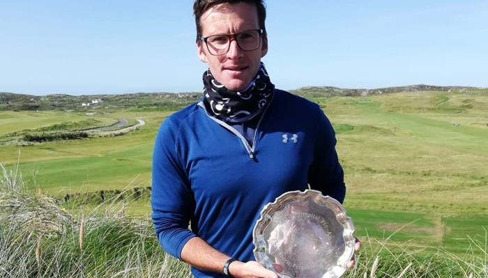 Doheny shines in the sun at Connemara Pro-Am