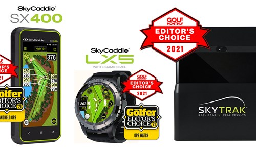 SkyTrak and SkyCaddie win again