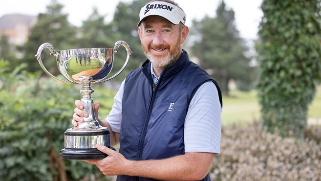 Fox wins thrilling duel with Lee to capture Loch Lomond Whiskies Scottish PGA Championship